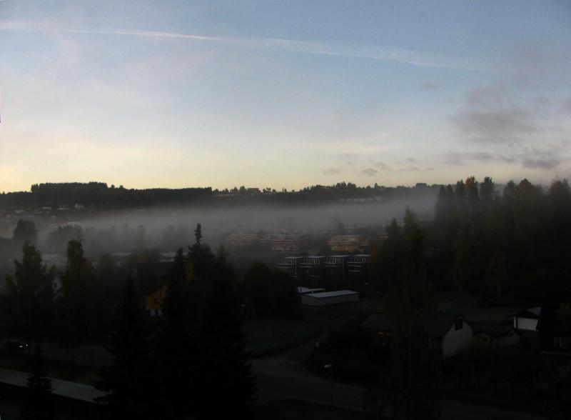 Výhled z okna 2.10.2013